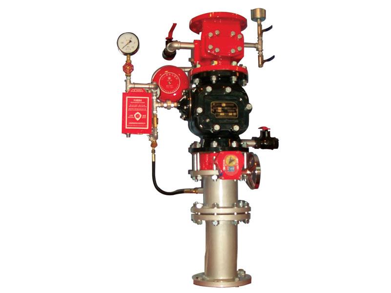 3) 备有接线端子与消防控制中心连接,进行远程实时监控.